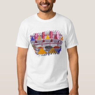 AF, Egypt, Aswan, Colorful spices in market. Tees