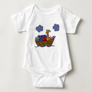 AF- Noah's Ark Baby Outfit Baby Bodysuit
