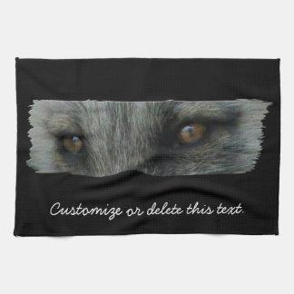AFE Arctic Fox Eyes Tea Towel