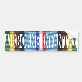 AFEM Veteran Airborne Infantry Bumper Sticker