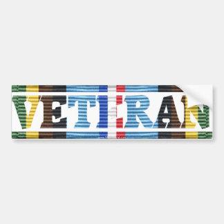 AFEM Veteran CMR Sticker Bumper Stickers