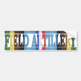 AFEM Veteran Field Artillery Bumper Sticker