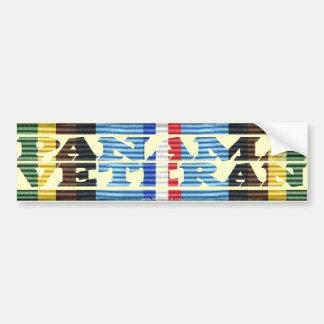 AFEM Veteran PANAMA VETERAN Bumper Sticker