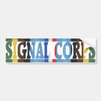 AFEM Veteran Signal Corps Bumper Sticker