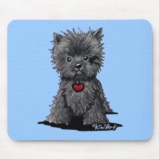 Affenpinscher Dog Art Mousepad