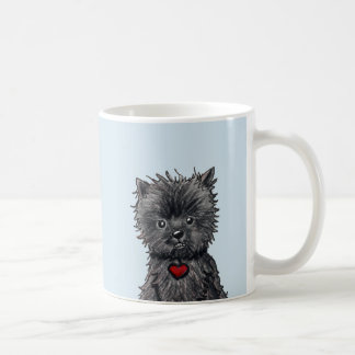 Affenpinscher Dog Art Mug