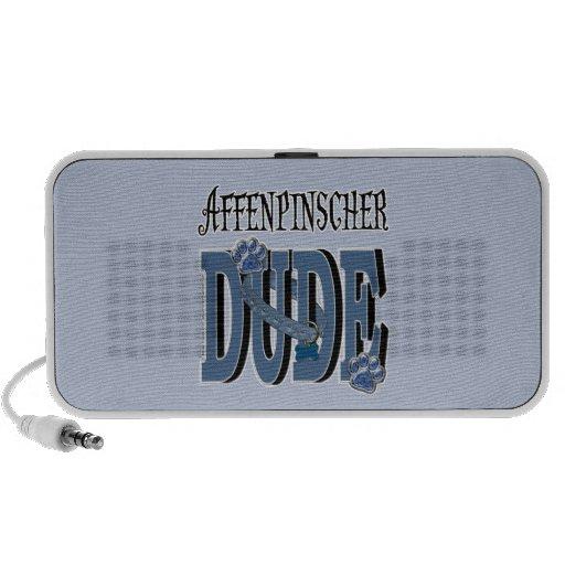 Affenpinscher DUDE Mp3 Speakers