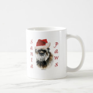 Affenpinscher Santa Paws Coffee Mug