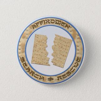Affikomen Search and Rescue 6 Cm Round Badge