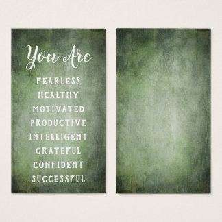 Affirmation Cards Add Your List of Positive Words