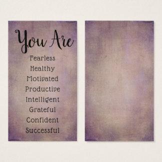 Affirmation Cards DIY Pick Your Positive Messages