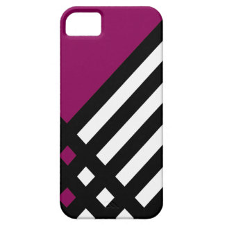 Affix Ebony III (Red-Violet) iPhone Case