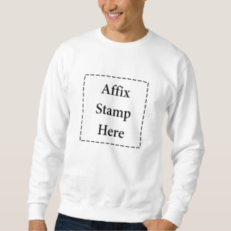 Affix Stamp Here Sweatshirt