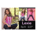 Affordable Model Comp Cards Flyers