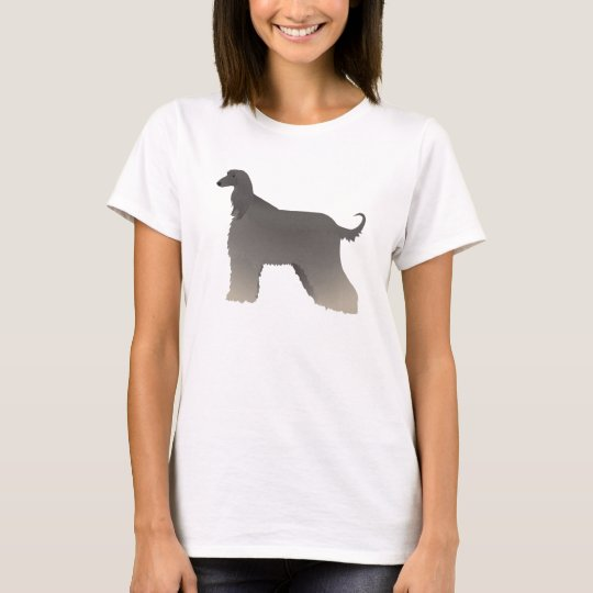 Afghan Hound Basic Breed Silhouette T-Shirt