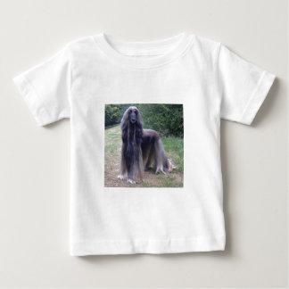 Afghan Hound Dog Baby T-Shirt