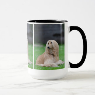 Afghan Hound dog beautiful photo coffee mug