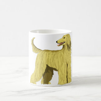 Afghan Hound Dog Coffee Mug