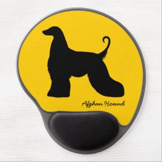 Afghan Hound Gel Mouse Pad