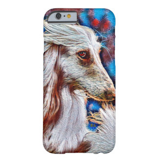 Afghan Hound Oil Portrait Barely There iPhone 6 Case