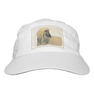 Afghan Hound Painting - Cute Original Art Hat