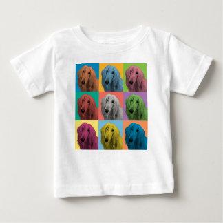 Afghan Hound Pop-Art Baby Infant T-Shirt