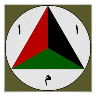 Afghan National Army Air Force Roundel Poster