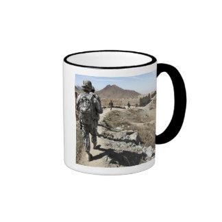 Afghan National Army and US soldiers Mug