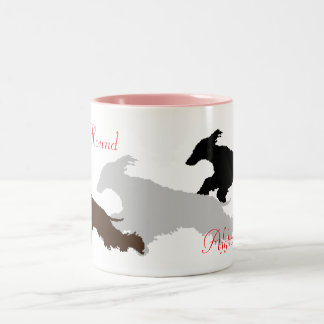 AfghanHound Two-Tone Coffee Mug
