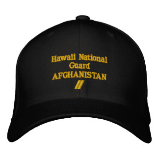 AFGHANISTAN 12 MONTH COMBAT TOUR EMBROIDERED HATS