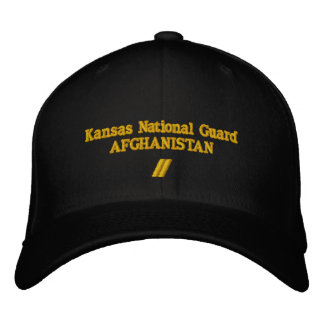 AFGHANISTAN 12 MONTH TOUR EMBROIDERED BASEBALL CAPS