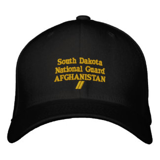 AFGHANISTAN 12 MONTH TOUR EMBROIDERED HATS