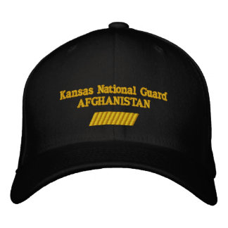 AFGHANISTAN 60 MONTH TOUR EMBROIDERED HATS