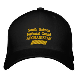AFGHANISTAN 66 MONTH TOUR EMBROIDERED BASEBALL CAPS