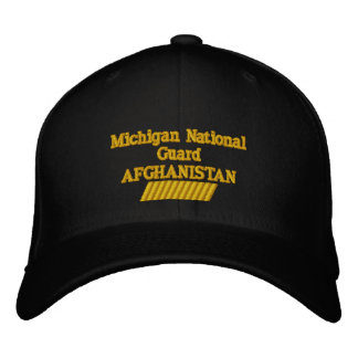 AFGHANISTAN 66 MONTH TOUR EMBROIDERED HAT