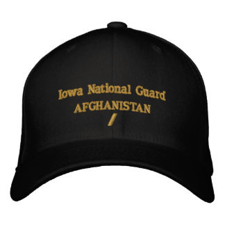 AFGHANISTAN 6 MONTH COMBAT TOUR EMBROIDERED BASEBALL CAPS