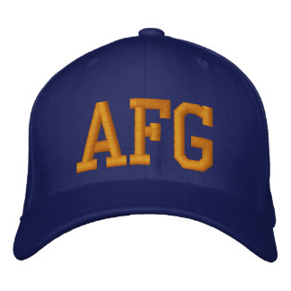 Afghanistan Baseball Cap (Coast Guard)