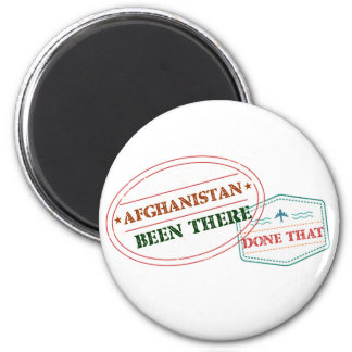 Afghanistan Been There Done That Magnet