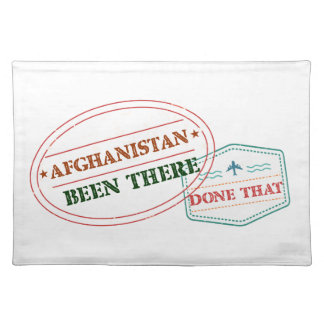 Afghanistan Been There Done That Placemat
