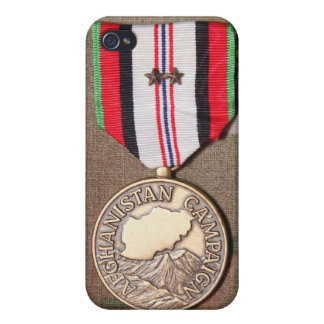 afghanistan campaign medal iPhone 4/4S cases