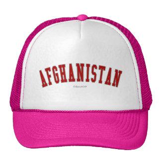 Afghanistan Trucker Hat
