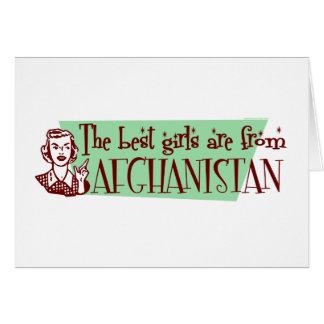 AFGHANISTAN CARD