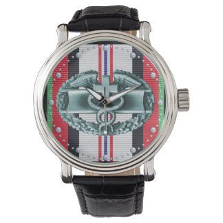 Afghanistan Combat Medical Badge Watch
