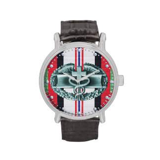 Afghanistan Combat Medical Badge Watch