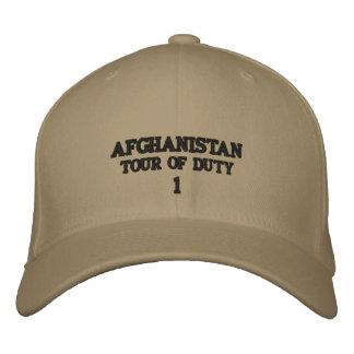 AFGHANISTAN EMBROIDERED BASEBALL CAPS