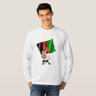 Afghanistan fan cat T-Shirt