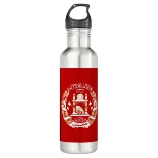 Afghanistan Flag 710 Ml Water Bottle