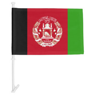 Afghanistan Flag Car Flag