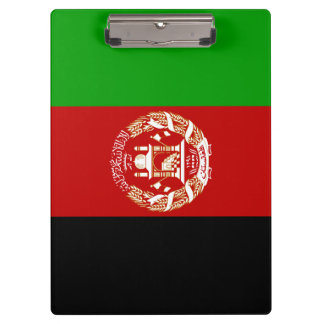 Afghanistan Flag Clipboard