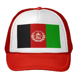Afghanistan Flag Hats
